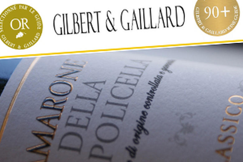 GILBERT & GAILLARD: GOLD MEDAL FOR OUR AMARONE CLASSICO