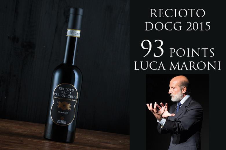 RECIOTO 2015: 93 PUNTI LUCA MARONI