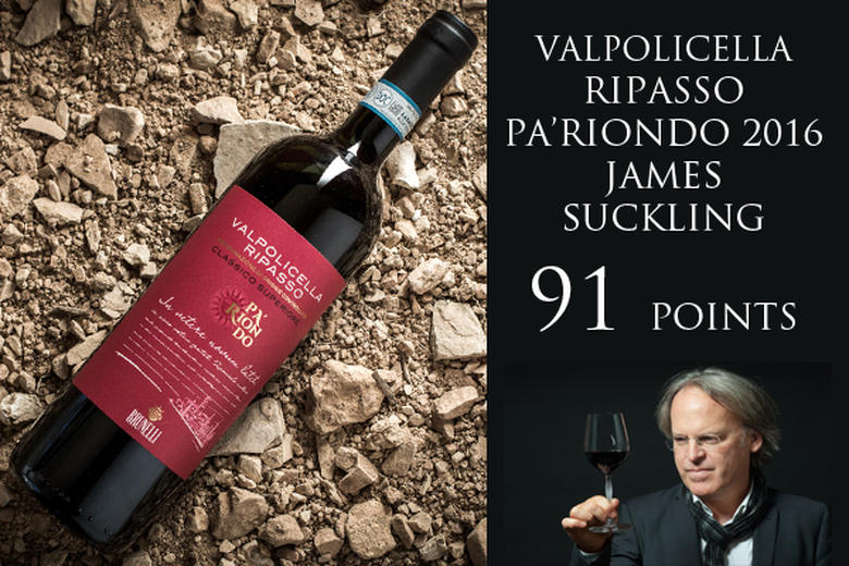 RIPASSO PA'RIONDO 2016: 91 POINTS JAMES SUCKLING
